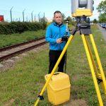 Danilo Renz vom Vermessungsbüro Thomas hat die Strecke offiziell vermessen.