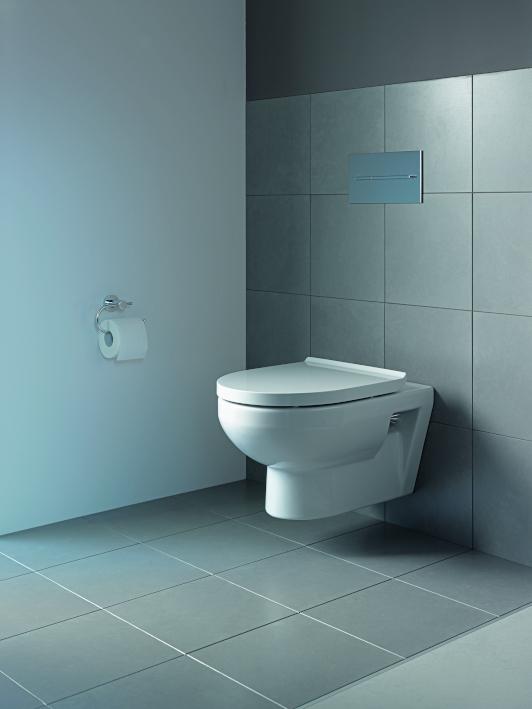 Wandhängend, spülrandlos und wassersparend - so sollte ein WC heute sein. (Copyright Duravit AG)